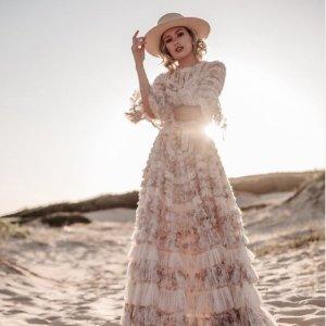 低至3折+正价9折 蕾丝仙女裙£130上新:Needle & Thread 仙女连衣裙闪促 低调优雅小仙女必备