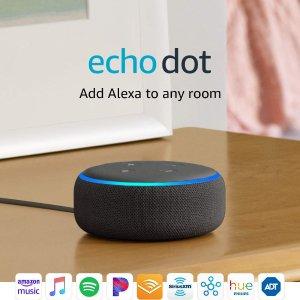 Echo Dot 3 买3个仅$57Amazon Echo 智能家居产品 批发价促销