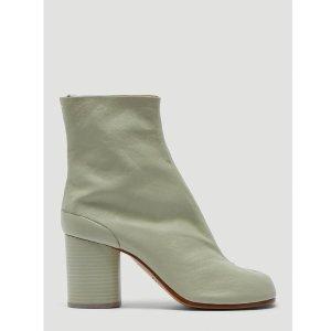 Maison MargielaTabi 灰色短靴