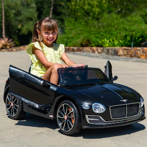 Ending Soon: 12V Kids Bentley Ride-On Car w/ Remote Control, 2 Speeds, AUX