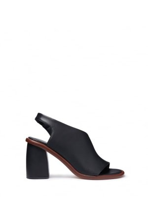 Miista Open Toe BlockHeel With Crossover - Shop from Own The Look UK