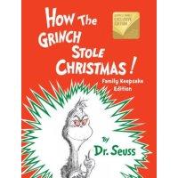 Dr. Seuss Grinch偷了圣诞节!