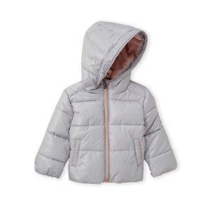 MICHAEL MICHAEL KORS(Infant Girls) Pearl Hooded Basic Puffer Jacket