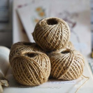 30M Natural Burlap Hessian Jute Twine Cord Hemp Rope String Gift Packing Strings Christmas Event & Party Supplies-in Cords from Home & Garden on Aliexpress.com   Alibaba Group