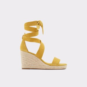 AldoLaretta Yellow Women's Wedges | Aldoshoes.com US
