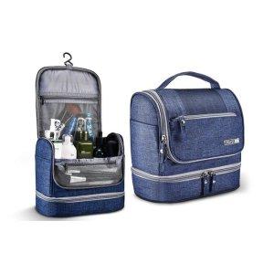 $19.95 便携且容量足Groupon 防水旅行挂式化妆包 多色可选