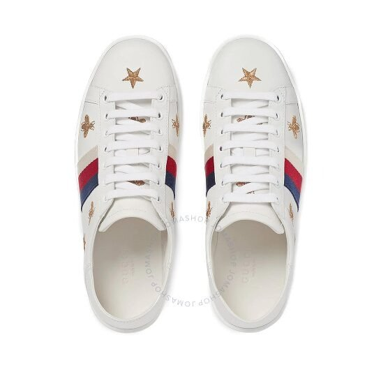 蜜蜂星星小白鞋