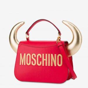 €60起 牛角包助你一飞冲天Moschino官网 2021中国新年限定系列上架 牛牛来啦