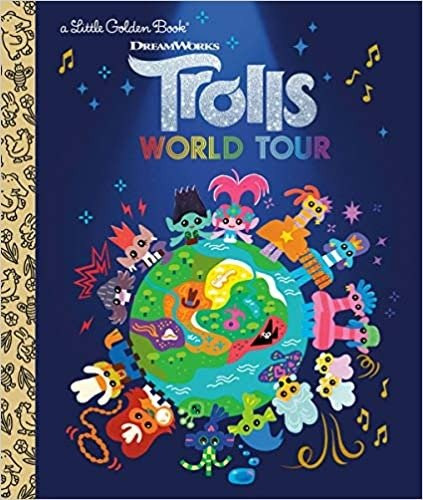 童书 Trolls world tour