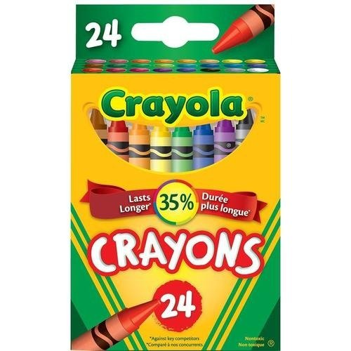 24色蜡笔