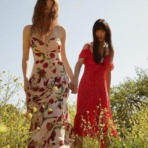 低至2.5折 收气质荷叶边仙女衣Rue La La 精选 BCBGmaxazria 美衣美裙热卖