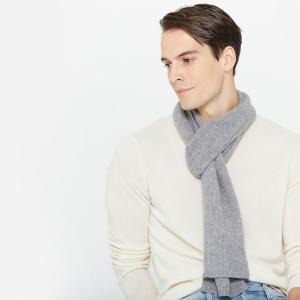 无门槛5折11.11独家:State Cashmere 男士羊绒服饰专场 百分百羊绒保暖舒适