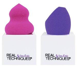 Real Techniques 美妆蛋两个+收纳架两个