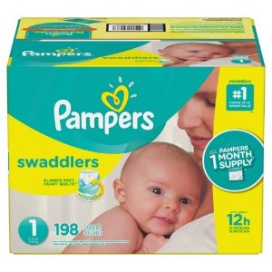 $5 OffPampers Diapers & Wips @ Sam's Club