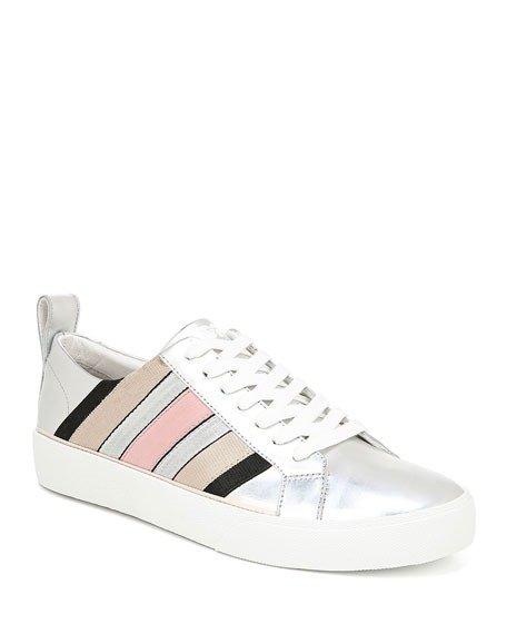 条纹休闲鞋