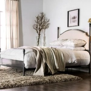 The Gray BarnEpona Contemporary Arched Four Poster Bed - Queen