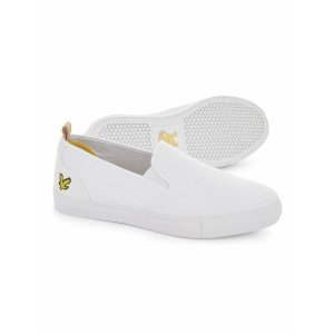 Lyle & Scott白色网球鞋