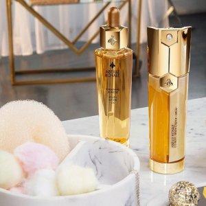 5折起,£18入熬夜霜Guerlain 全线护肤香氛热促 收金钻粉底液、御庭兰花系列