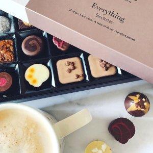 全场8.5折Hotel Chocolat 英国高端巧克力热促中 生活需要这份甜