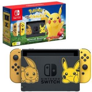 低至$389Nintendo Switch任天堂 皮卡丘限量版 多个套装可选