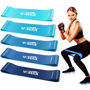 折后€7.77 原价€15.66Theraband 健身弹力带5条 不同重量组合 男女适用 天然橡胶
