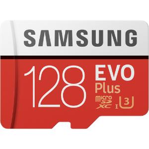 $36Samsung 128GB EVO+ UHS-I microSDXC Memory Card