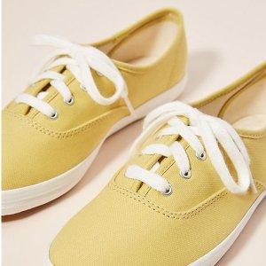 6.5折起Keds 小仙女们的糖果色平底鞋 可爱封面色$39收