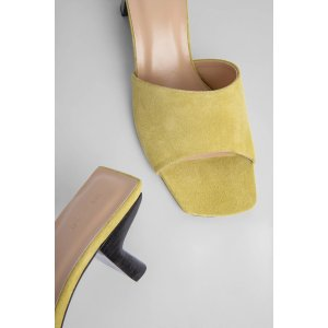 by FARLily LEMON Suede Leather