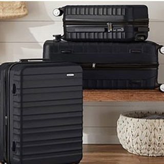 As Low As $65.99AmazonBasics Premium Hardside Spinner Two or Three Piece Luggage Set