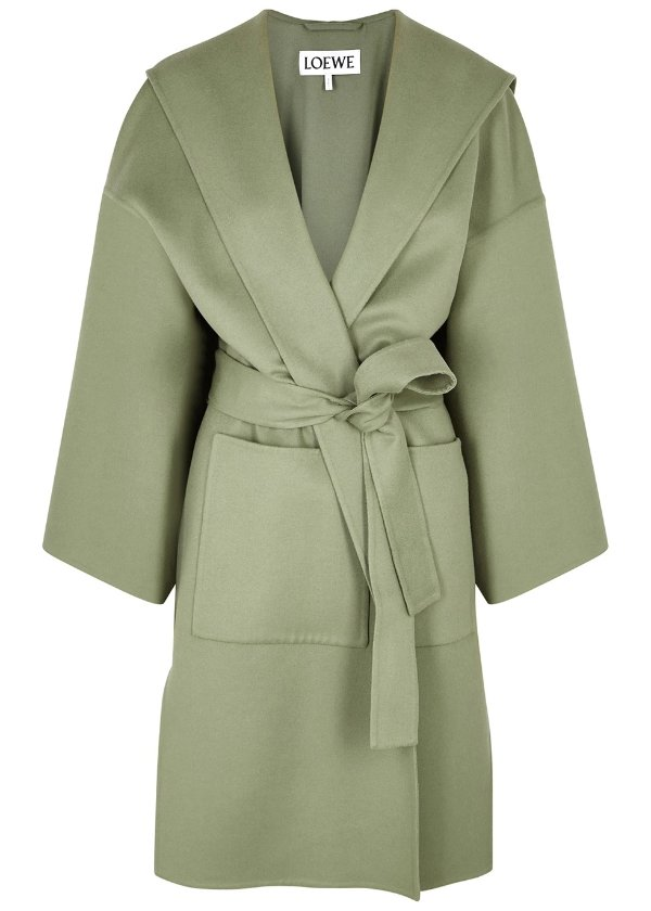 羊绒羊毛混纺大衣