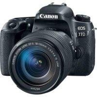 Canon Black EOS 77D + 18-135mm 镜头