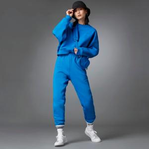 £22收橙色毛线帽上新:adidas 全新Blue Vision 蓝系 沉浸式三叶草蓝意体验