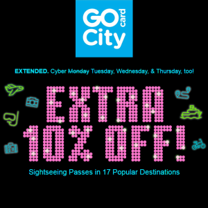 Last Day: Save up to 55%+Extra 10% OffAll-inclusive & Expolorer Passes @GoCityCard