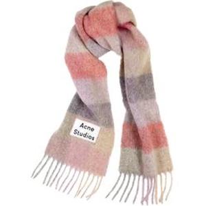 £210收最新款拼色羊毛围巾上新:Acne Studio 秋冬新款围巾热卖 神仙配色美美过冬