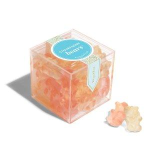 sugarfina全场满$35免运费香槟小熊软糖 小盒装