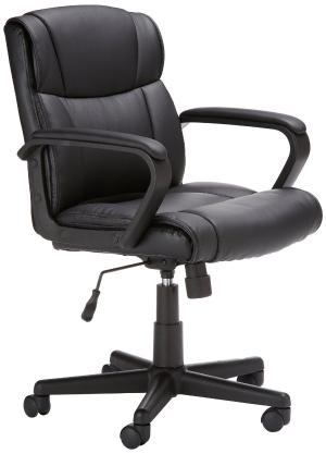 $73.58AmazonBasics  中靠背升降办公椅