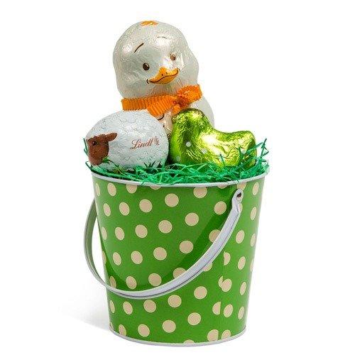 复活节主题小鸡巧克力礼桶