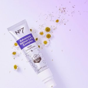 20% off+Free ShippingNo7 Beauty Sitewide Skincare Hot Sale