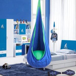 $31.34(原价$41.99)CO-Z儿童安全吊床/秋千吊椅 为孩子提供温暖的抱抱