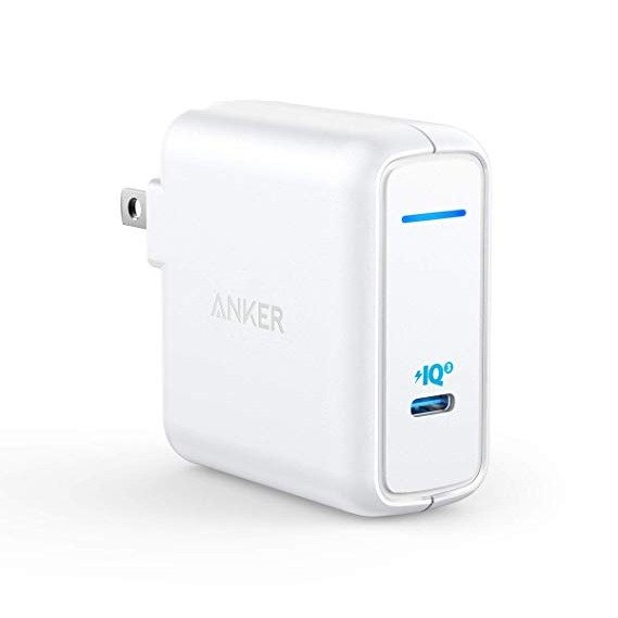 PowerPort Atom III 60W GaN PD USB-C 电源适配器 白色