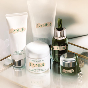 4 deluxe minis with any $150+ purchase.La Mer Sitewide Beauty Sale