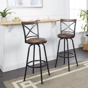 Enjoyable Wayfair Selected Bar Stool On Sale As Low As 28 Dealmoon Machost Co Dining Chair Design Ideas Machostcouk