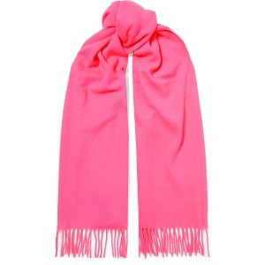 Acne StudiosCanada fringed wool scarf