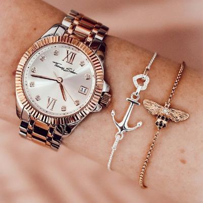 低至5折 收新款CODE TS 系列Thomas Sabo 腕表系列热卖 ins上最火爆的小众手表