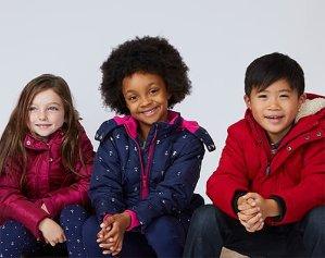 清仓区5折+部分款额外4折Nautica 2-16岁儿童冬日服饰清仓折上折特卖