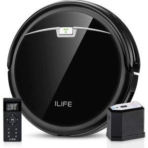 $169.08(原价$210.11)史低价:ILIFE A4s Pro 2000Pa Max 静音智能扫地机器人 配备大尘盒