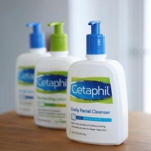低至$7.12Cetaphil 精选护肤产品促销 收温和洁面、保湿面霜