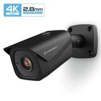 超高清 4K 户外监控摄像头 POE 供电