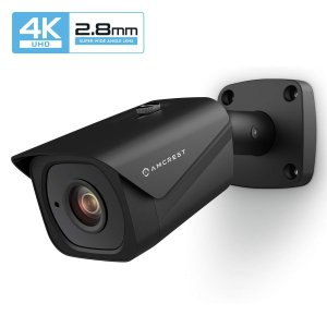 $81.58 超广角镜头 夜视也给力闪购:Amcrest 超高清 4K 户外监控摄像头 POE 供电