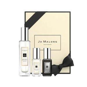 仅$145 送香氛24mlJo Malone 正装鼠尾草与海盐3件套 另含牡丹、茉莉浓香共18ml
